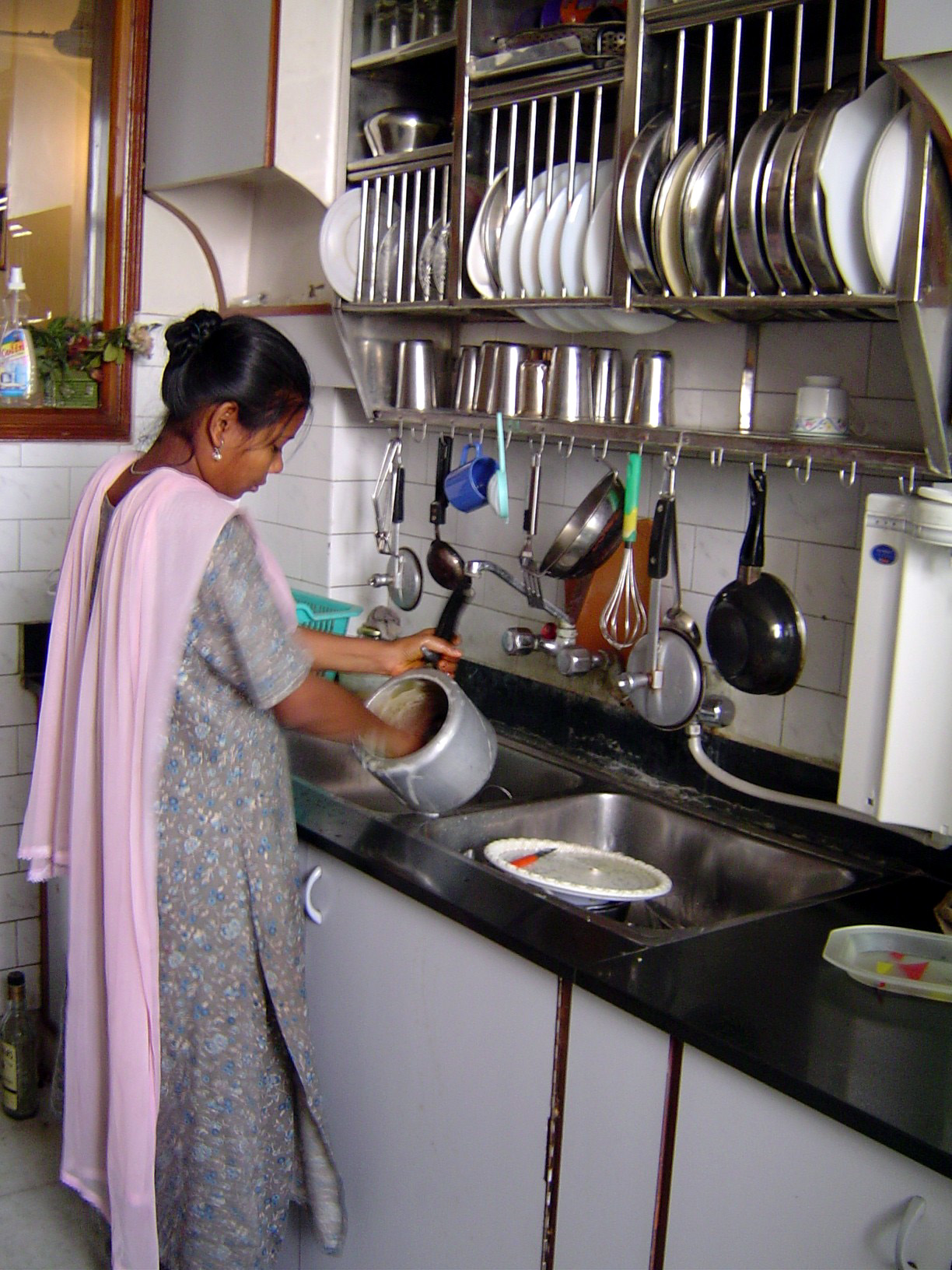 Handwashing pic Indian kitchen design download