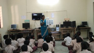 Monitoring Visit - Reading Path - Panchayath Union Middle School, Chinna Sekkadu